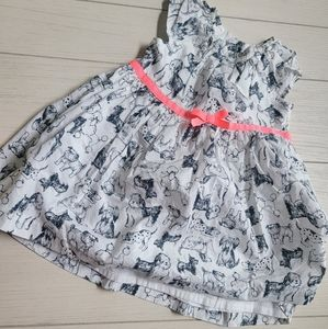 Puppy dogs baby girl dress 6 months